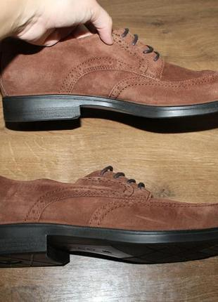 Шкіряні туфлі ecco melbourne, 46 розмір