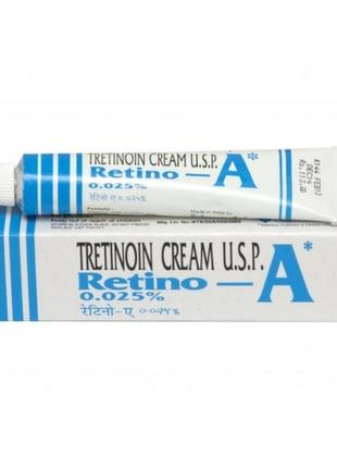 Tretinoin retino, третиноин - a 0.025 % johnson & johnson 20 г . крем для лечения морщин