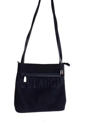 Класна сумка bulaggi в ідеальному стані  2 відділення  27 на 28 дно 10 ручки 90 см