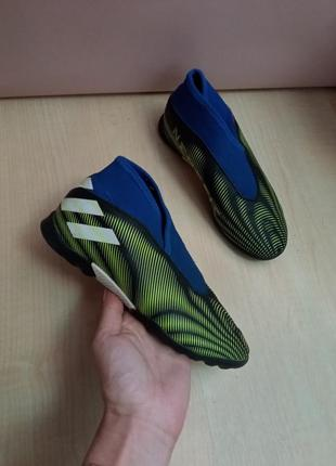 Cороконожки adidas nemeziz.3 ll tf fy0820 оригинал 2020
