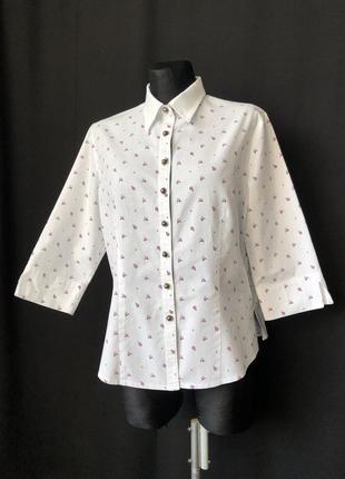 H.moser баварская рубашка олени эдельвейсы