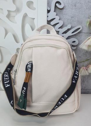 Сумочка рюкзак екошкіра