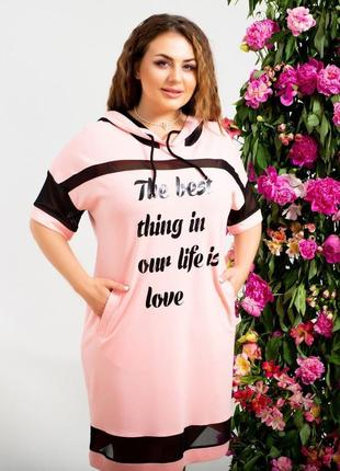 Платье туника-платье