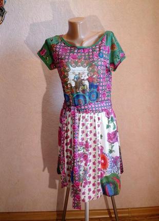 Платье desigual*группа*с поясом