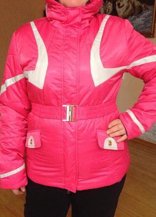 Курточка спортивная зимняя, можно лыжная 52р