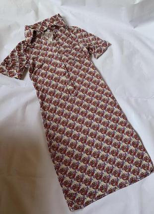 Платье винтаж из лёгкого приятного материала