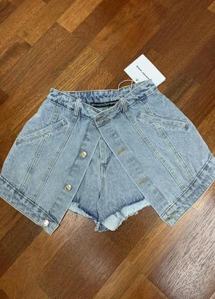 Шорты джинсовые alexander wang