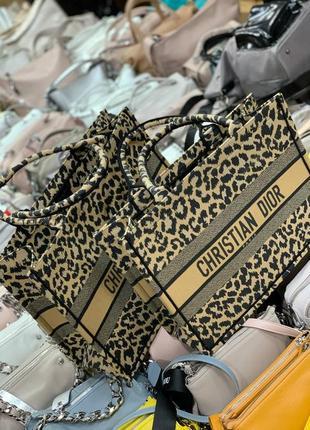 🔥 шикарный текстильный леопардовый шопер сумка шоппер