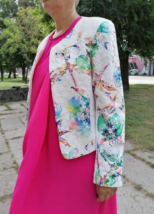 🛍️gerard.практически новый нарядный пиджак в стиле шанель