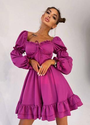 Платье, костюмка