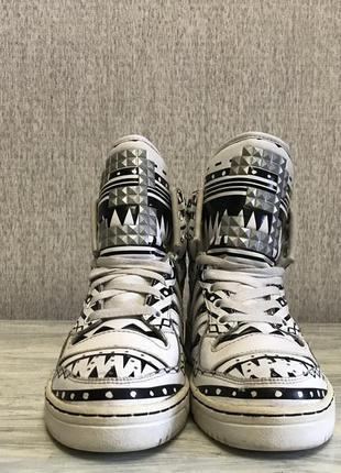 Adidas womens metro attitude logo w высокие кроссы, кроссовки