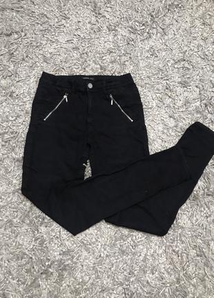 Чёрные брюки, штаны, джинсы reserved