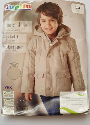 Отличные куртки парки для мальчиков еврозима, lupilu, германия