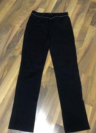 Чёрные штаны брюки kira plastinina