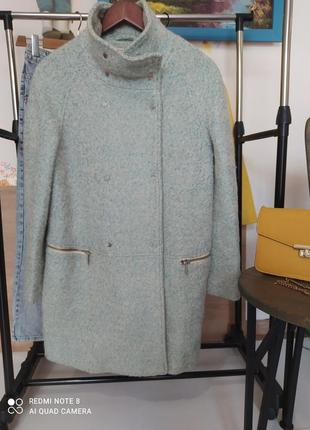 Шикарное пальто оверсайз шерсть