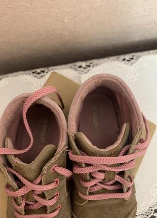 Осенние ботинки на шнуровке