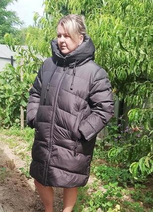 Зимова куртка 56-58 розміру
