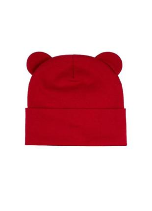 Шапка красная трикотаж осень 🍂 комплект набор  шапка хомут снуд трикотаж