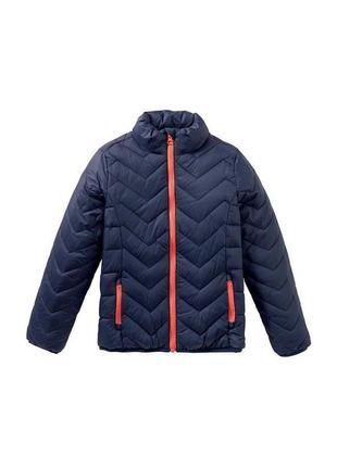 Стеганная демисезонная куртка на мальчика pepperts осенняя курточка на мальчика