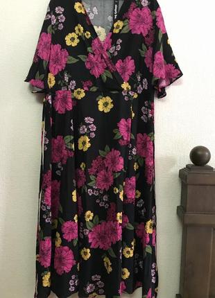 Simply be. великолепное  яркое платье р . 48-50 ( uk 18)