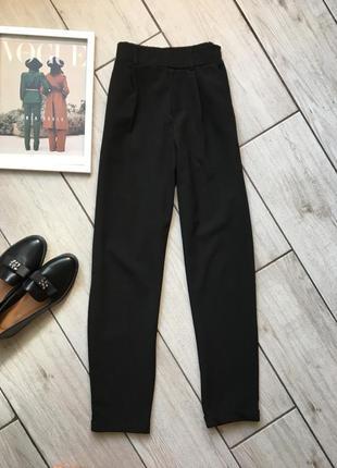 Чорні класичні брюки xs / черные классические брюки xs