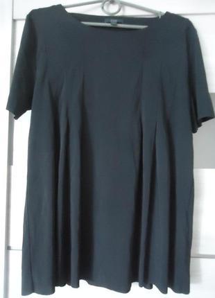 Фирменная блуза с необработаными краями