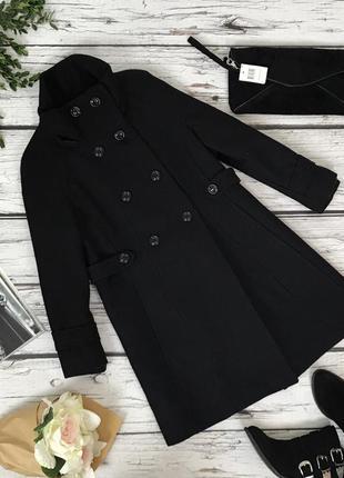 Классическое полушерстяное пальто zara  ow4778