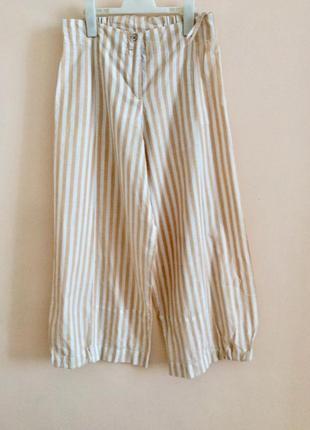 Стильные широкие брюки палаццо
