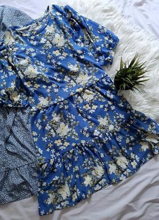 Платье парашют в цветочный принт от pep&co