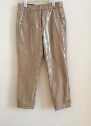 Шикарные кожаные брюки люкс сегмент seventy италия 🇮🇹
