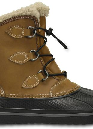 Зимние ботинки crocs kids allcast ii boot оригинал. с10