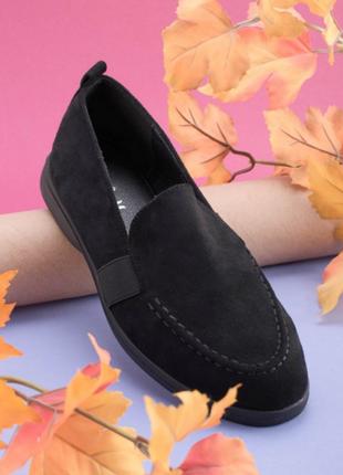 Женские чёрные туфли/лоферы.размеры: 36, 37, 38, 39, 40, 41