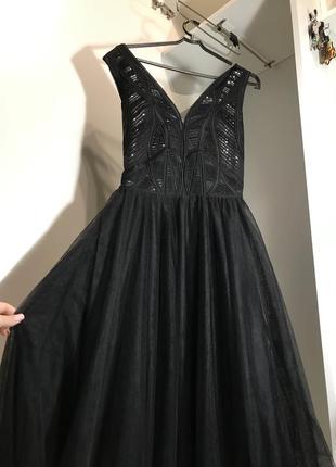 Вечернее платье seam / платье на выпускной