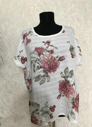 Шикарная блуза натуральная италия 🇮🇹