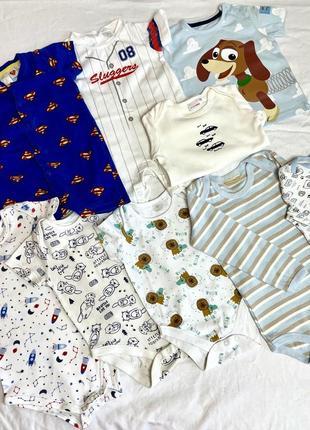 Набор вещей на мальчика 6-9-12 месяцев
