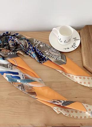 Шёлковый платок бандана