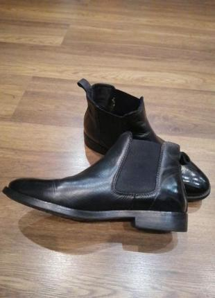 Оригінальні демісезонні черевики, сапоги челсі