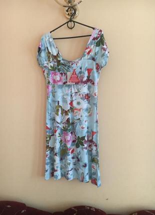 Батал большой размер летнее легкое платьице плаття сукня натуральное новое платье плать