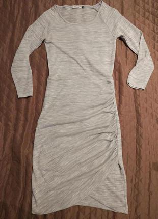 Платье с длинным рукавом only