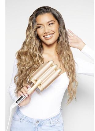 ❗️оригінал❗️ beauty works плойка-стайлер для волосся оригінал❗️ beauty works professional jumbo waver 32мм.