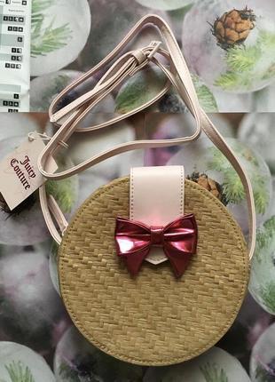 Juicy couture. плетеная сумка. сумка соломенная. новая с бирками!