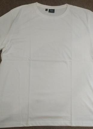 Футболка белая (розмер 60-62) хлопок