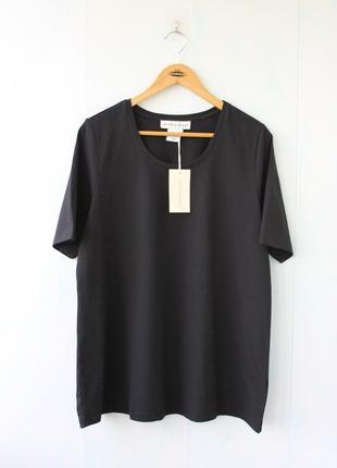 Базовая футболка janet &joyse ,  хлопок, батал