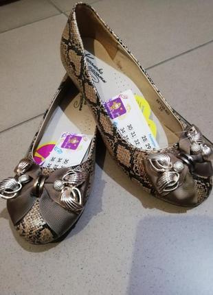 Туфли балетки для девочек