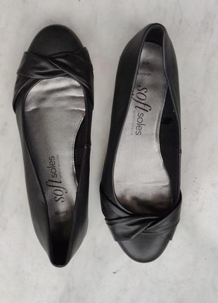 Туфли балетки низкий каблук  41 42 george