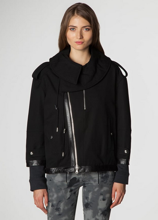 Новая оверсайз косуха diesel black gold 100% шерсть+кожа премиум линия куртка жакет дизель