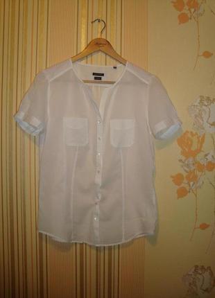 Батистовая рубашка блуза marc o polo