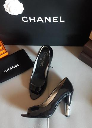 Chanel! оригинал! туфли/босоножки.