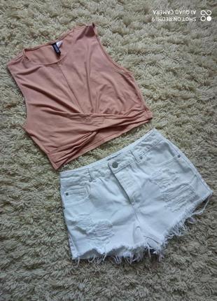 Очень классные белые шорты