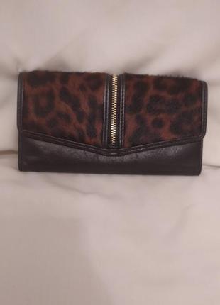 Женский фирменный кошелек натуральная кожа